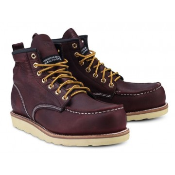 Lumberjacks High Cut Boots With Contrast Stitching