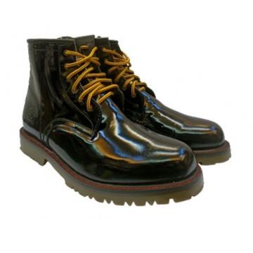Lumberjacks Patent Leather Boots
